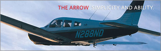 Piper Arrow - PA-28R-201 - Complex Single-Engine Piston Flight Training Aircraft - Cutter Texas Piper Sales - New Aircraft Sales for Texas - Dallas, San Antonio, Houston, Austin, Midland