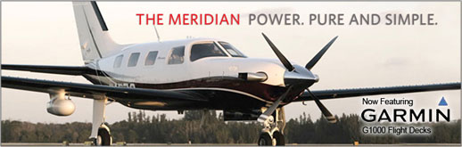 2014 Piper Meridian - PA-46-500TP - Six-Place Single Engine Pressurized Turboprop - Cutter Texas Piper Sales - New Aircraft Sales for Texas - Dallas, San Antonio, Houston, Austin, Midland
