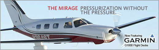 2014 Piper Mirage - PA-46-350P - Six-Place Single Engine Pressurized Turbocharged Piston - Cutter Texas Piper Sales - New Aircraft Sales for Texas - Dallas, San Antonio, Houston, Austin, Midland