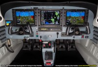 Garmin G950 Glass Panel Retrofit STC Package for the Piper Meridian by Cutter Aviation