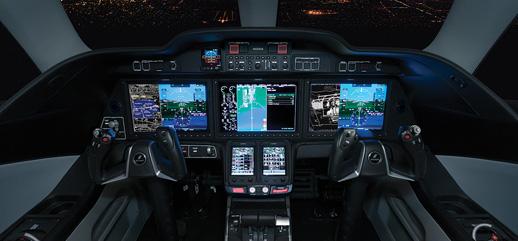 Cockpit - HondaJet Southwest