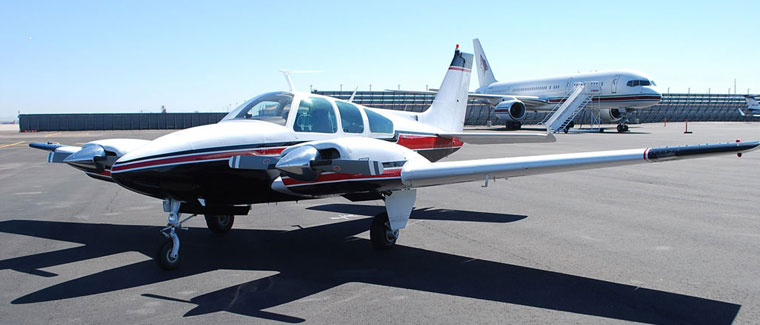 1972 Beechcraft Baron B55 - s/n: TC-1441 - N455Q - Cutter Aircraft Sales