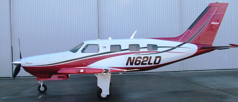 2012 Piper Mirage - s/n: 4636533 - N62LD