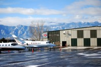 Cutter Aviation Colorado Springs CO (COS) FBO Ramp