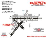 Cutter Aviation Albuquerque - Albuquerque International Sunport (ABQ) Diagram