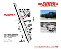 Cutter Aviation Dallas Addison - Addison Municipal Airport (ADS) Diagram""