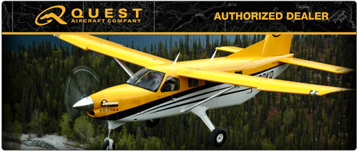 Cutter Aviation Aircraft Sales - Authorized New Aircraft Dealer for Quest Aircraft - Quest KODIAK - Southwest U.S. - Texas, New Mexico, Arizona, Southern Nevada, Southern and Central California