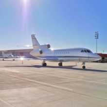Cutter Aviation Albuquerque Unveils Brand New Concrete Ramp at ABQ - Press Release - October 9, 2012