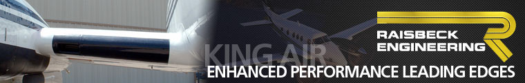 Cutter Aviation Technical Services - Raisbeck Engineering Enhanced Performance Leading Edges for King Air