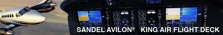 Cutter Aviation Technical Services - Sandel Avilon Retrofit for King Air