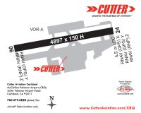 Cutter Aviation Carlsbad - McClellan-Palomar Airport (CRQ) Diagram