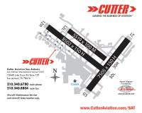 Cutter Aviation San Antonio - San Antonio International Airport (SAT) Diagram