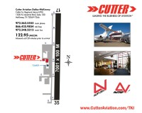 Cutter Aviation Dallas McKinney - Collin County Regional Airport (TKI) Diagram