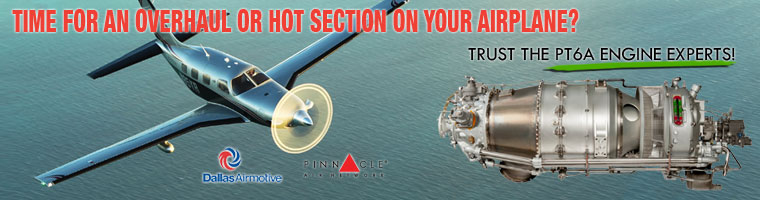 Engine Overhaul and Hot Section for PT6 Engines by Cutter Aviation Avionics