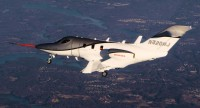 HondaJet Conforming Prototype Flight on December 20, 2010 - Inflight Image