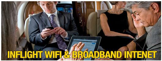 Inflight Cabin WIFI Broadband Internet Aircell Cutter Aviation Phoenix