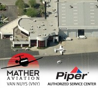 Mather Aviation - Van Nuys, CA - Piper Aircraft Authorized Service Center