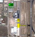 Map of 2012 MMOPA Fly-In Convention Aircraft Parking at Colorado Springs Airport (COS) for September 19-22, 2012 - Cutter Aviation