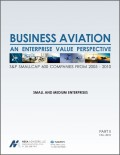 NEXA Report - Business Aviation: An Enterprise Value Perspective Part 2 - Cutter Aviation and Cutter Flight Management Resources