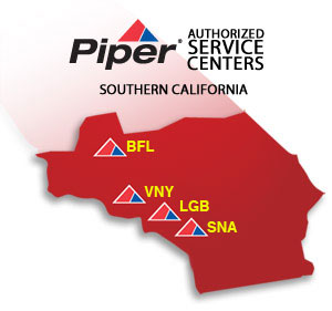 Piper Aircraft Authorized Service Centers of Southern California - Cutter Piper Sales