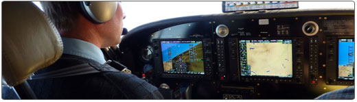 Cutter Aviation Aircraft Sales - Quest KODIAK Flightdeck Avionics: Modern Garmin G1000 Flightdeck. All Your Flight Data, as Clear as Glass.