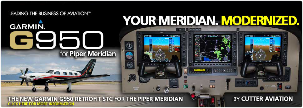 Cutter Garmin G950 Retrofit