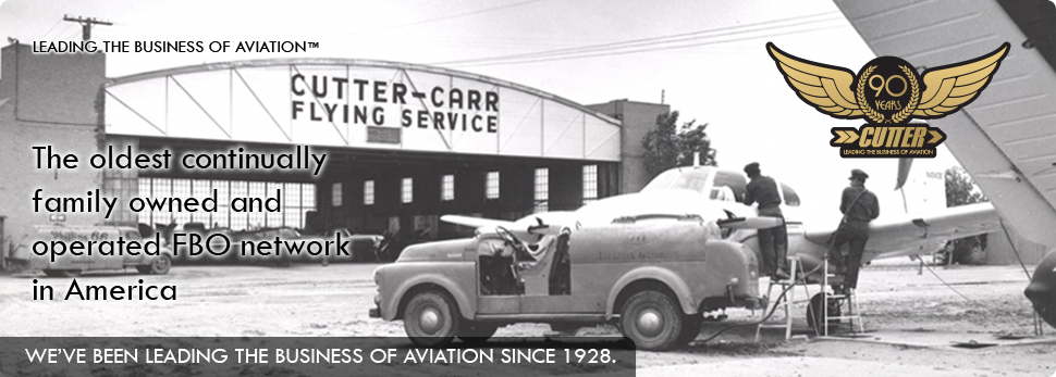 Cutter Aviation\'s History