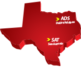 Texas Piper Aircraft Sales - Map of our locations in Texas - Cutter Aviation
