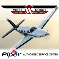 West Coast Maintenance - Long Beach, CA - Piper Aircraft Authorized Service Center